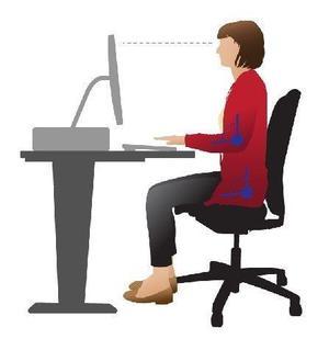 Escritorio oficina puesto de trabajo mesa amplia posot class - Escritorio de trabajo ...