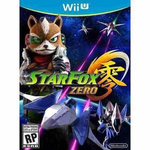 Wii U Star Fox Zero Juego Fisico