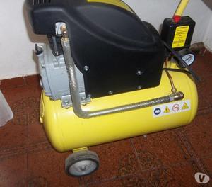 Compresor De Aire + Kit Gamma Completo Poco Uso $