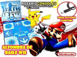 Alfombra De Baile Nintendo Wii Nuevas Rosario