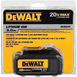 Bateria dewalt 20v litio 3ha dcb200 nueva