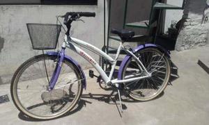 Bicicleta Rodado 26 De Mujer Muy Poco Uso