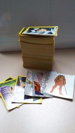 Lote figuritas Caballeros del Zodiaco (Album 2 - Año 1996)