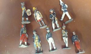 Antiguos Soldados De Plomo, Lote.