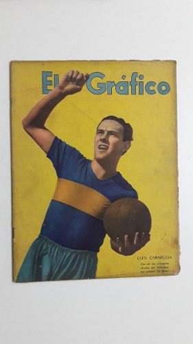El Grafico  Boca Juniors Luis Carniglia