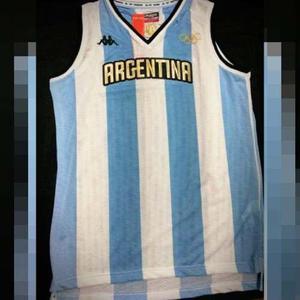 Camiseta Selección Argentina De Basquet Olimpiadas Rio 2016