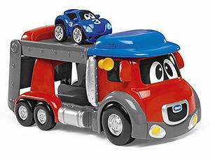 Juguete Chicco Camion Turbo Touch Speed Truck Con Autito