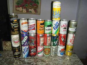 Latas De Cerveza Y Gaseosa Coleccion 1