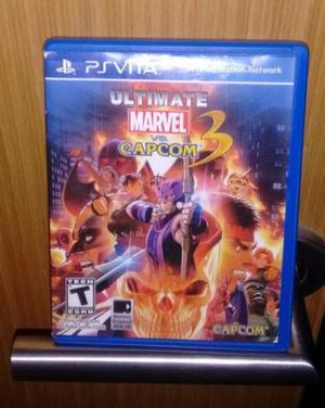 Marvel Vs Capcom 3 Ps vita