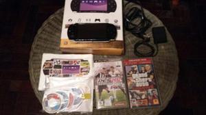 Psp-playstation Portable Consolas Psp Slim 3000 Con 7 Juegos