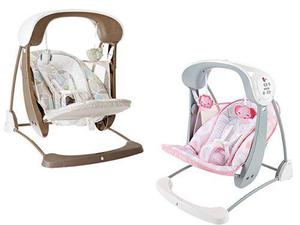 Silla Mecedora Hamaca Bebe Fisher Price Take Along 2 En 1!