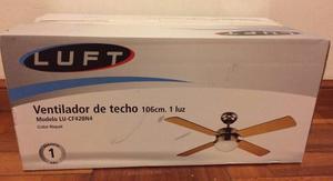 Ventilador De Techo Con Plafon De Luz. Nuevo!
