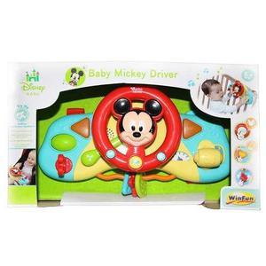 Volante De Juguete Mickey Driver Luces Y Sonidos Winfun