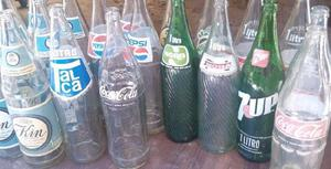 Botellas de aceite vidrio antiguas avellaneda posot class - Botelleros para bares ...