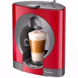 Cafetera Automatica Moulinex Nescafe Dolce Gusto Oblo Cherry