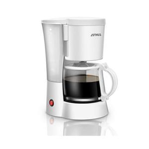 Cafetera De Filtro Atma Ca8132e Jarra De Vidrio 1.25l Blanca