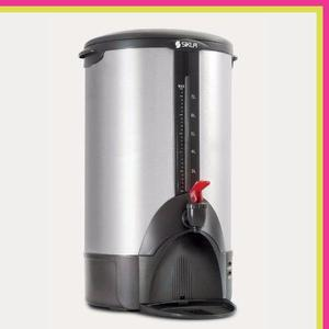 Cafetera Eléctrica Sikla Dk 50 8 Lts 50 Pocillos Acero Inox