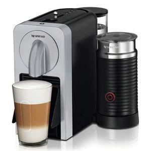 Cafetera Espresso Nespresso Prodigio & Milk Plateado