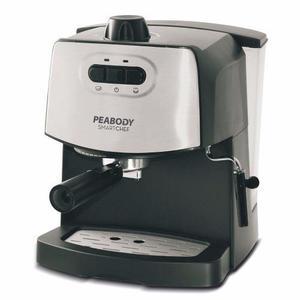 Cafetera Express Con Espumador 2 Cafes Peabody 4600 Alclick