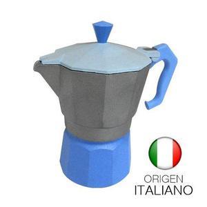 Cafetera Express Gat Fantasia 3 Pocillos Aluminio Italiana