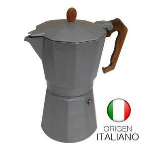 Cafetera Express Gat Splendida 6 Pocillos Aluminio Italiana