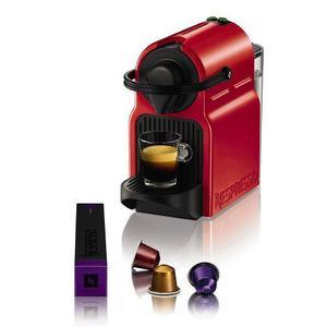 Cafetera Express Nespresso Inissia Red
