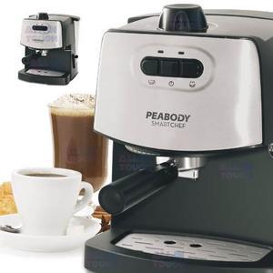 Cafetera Express Peabody 1.8l Espumador 15bar Inox Pe-ce4600