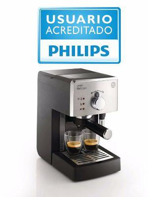 Cafetera Express Philips Saeco Poemia Class Hd8325/42 15b 1l