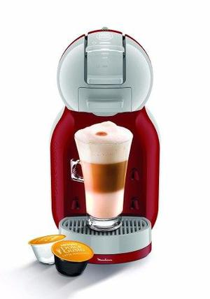 Cafetera Moulinex Dolce Gusto Minime Roja Pv1205 Automatica