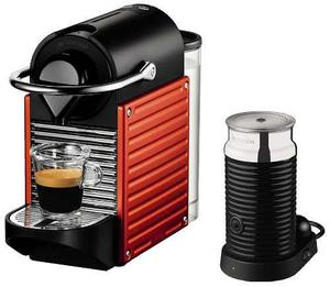 Cafetera Nespresso Pixie + Aeroccino + 16 Cáps Regalo