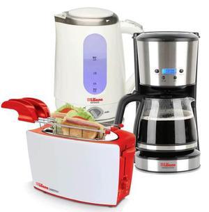 Combo Tostadora Pava Electrica Cafetera Smartcoffe Liliana
