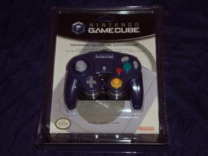 Control Indigo Transparente De Gamecube