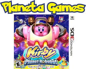 Kirby Planet Robobot Nintendo 3ds Nuevos Caja Cerrada