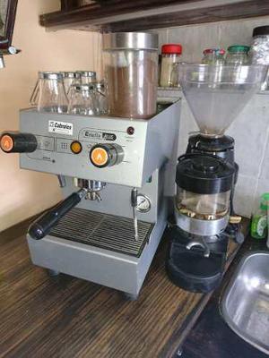 Maquina De Cafe Expresó Criollo Plus Electrica + Molinillo