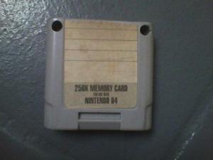 Memory Card / Controller Pack Nintendo 64