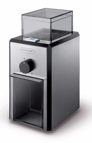Molinillo De Cafe Delonghi Kg-89 Muelas Cronicas Acero 120g