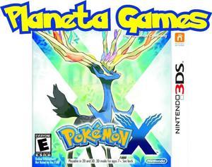 Pokemon X Nintendo 3ds Nuevos Caja Cerrada