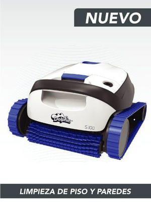 Robot Dolphin S100 -limpia Piletas Fondo Y Paredes! Nuevo