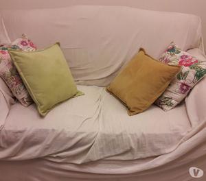 Sillón cama 2 cpos mecanismo interno con colchón de
