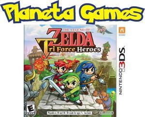 Zelda Tri Force Heroes Nintendo 3ds Nuevos Caja Cerrada