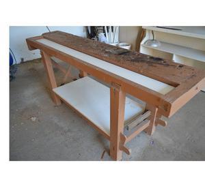 Banco de carpintero en madera dura santa fe posot class for Ofertas de empleo banco exterior