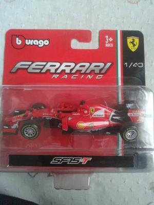 Ferrari F1 Sf15-t Burago Escala 1/43 Vettel 5//raikkonel 7