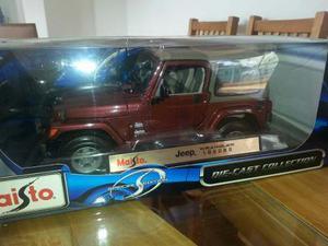 Maisto Jeep Wrangler Sahara 1/18 Nuevo $
