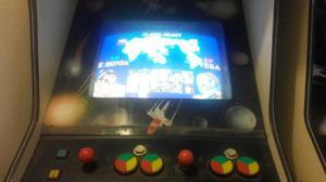 Maquina De Video Juego Street Figther 2 Y Pacman