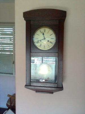 Reloj Campanario Con Péndulo De Pared