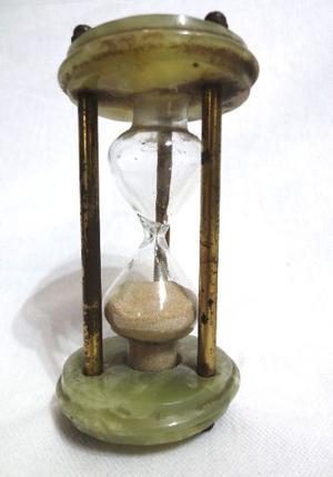 Reloj De Arena Con Marmol