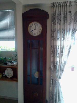 Reloj De Pie Antiguo. Impecable!