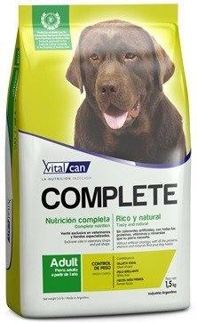 Vital Can Complete Perro Control De Peso X 20 Kg - M Food