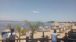 frente a la playa paso de la patria, alquilo 2 dtos