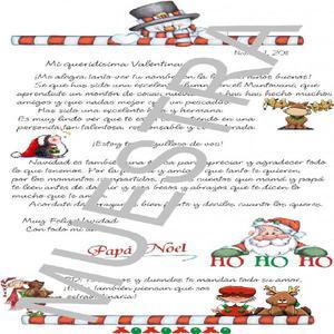 Carta de Santa Personalizada